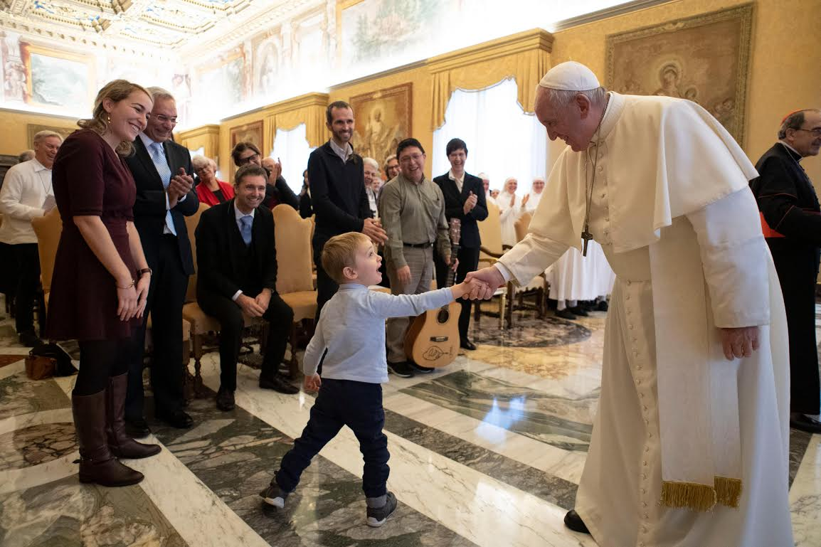 Visages de la miséricorde en France © Vatican Media