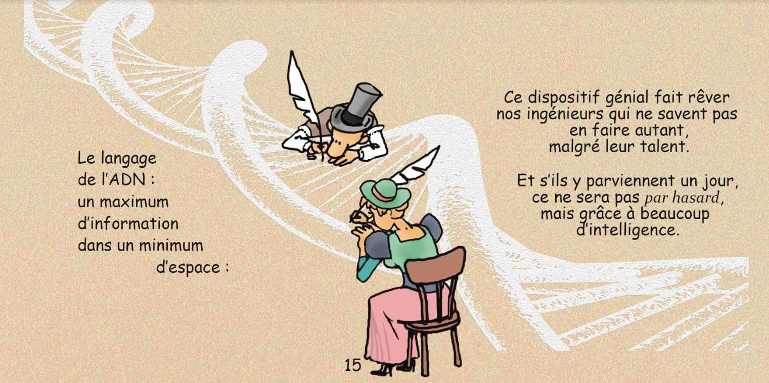 """Copyright - Brunor, """"La lumière fatiguée"""", p. 15"""