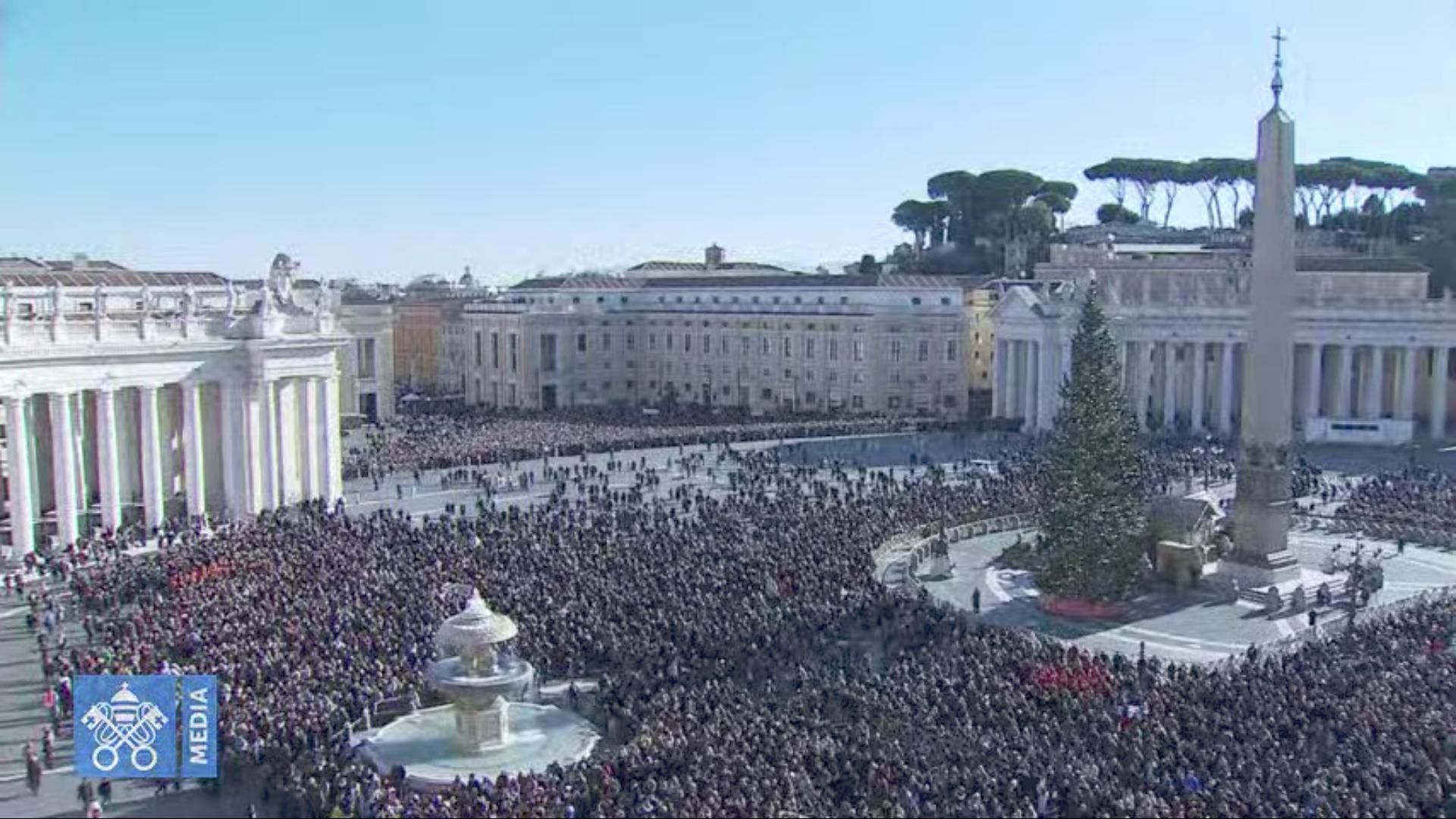 Angélus du 29 déc. 2019, capture @ Vatican Media