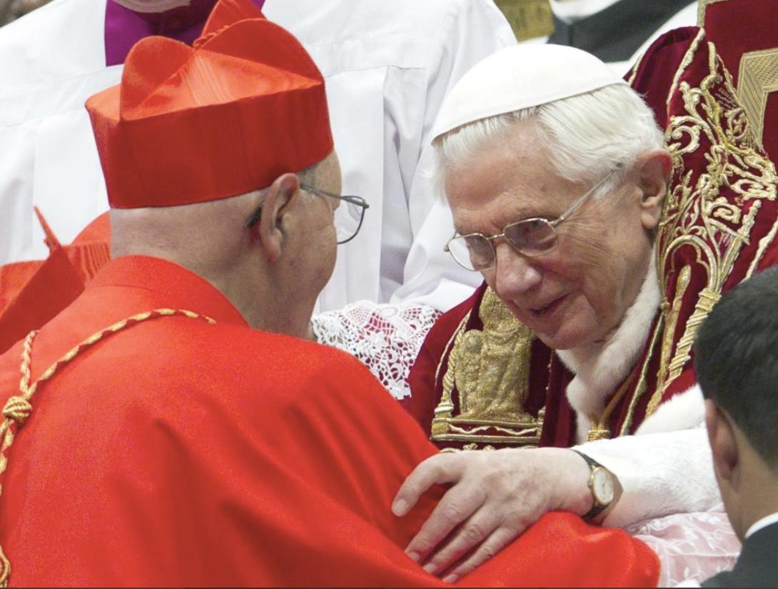 Consistoire de 2012, le card. Prosper Grech © L'Osservatore Romano