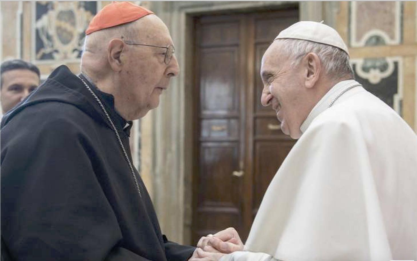 Le card. Prosper Grech © Vatican Media