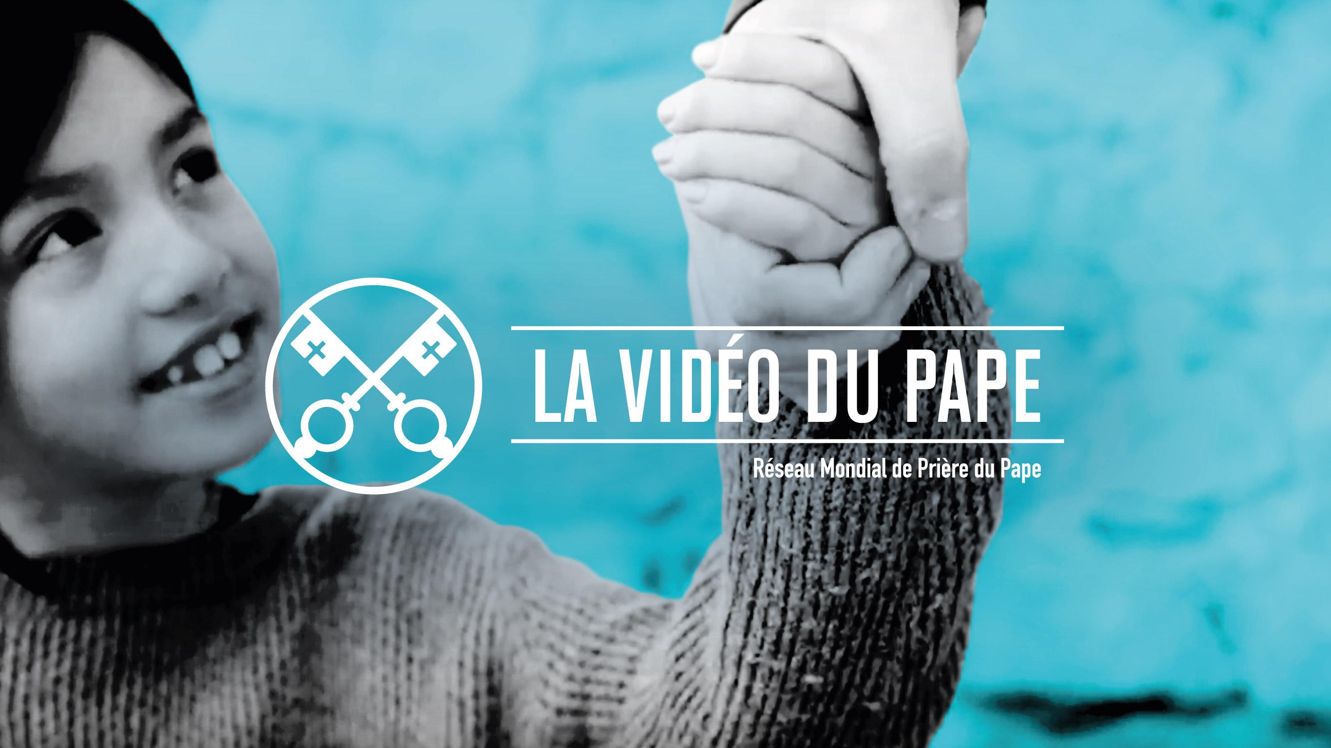 Vidéo du pape, décembre 2019, enfants