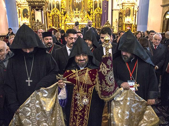 Le patriarche Sahak II Machalian@ armenews.com
