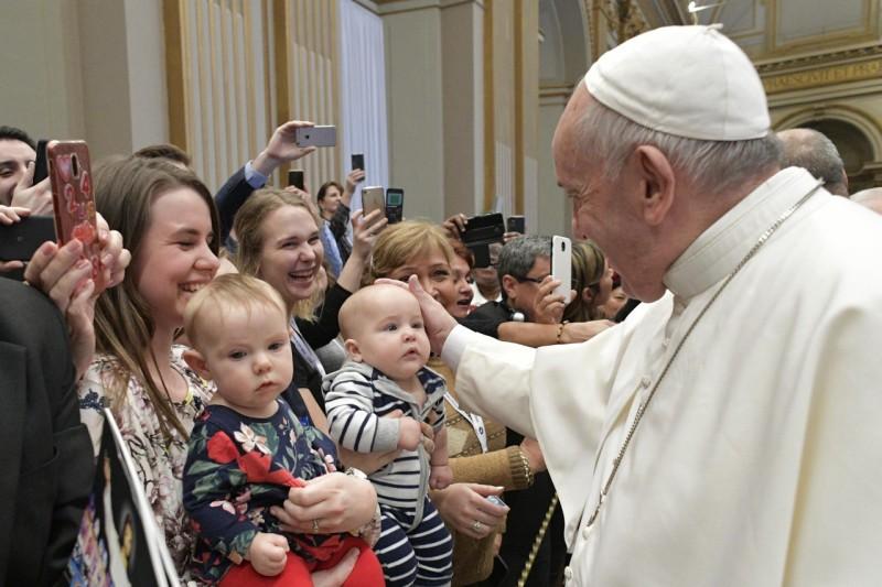 Rencontre du Conseil pontifical pour la nouvelle évangélisation © Vatican Media