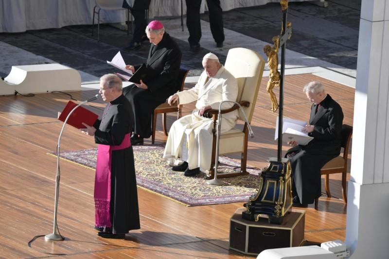 Audience générale du 4 décembre 2019 © Vatican Media