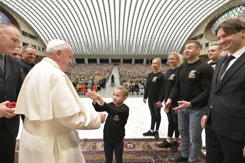 Audience générale du 11 décembre 2019 © Vatican Media