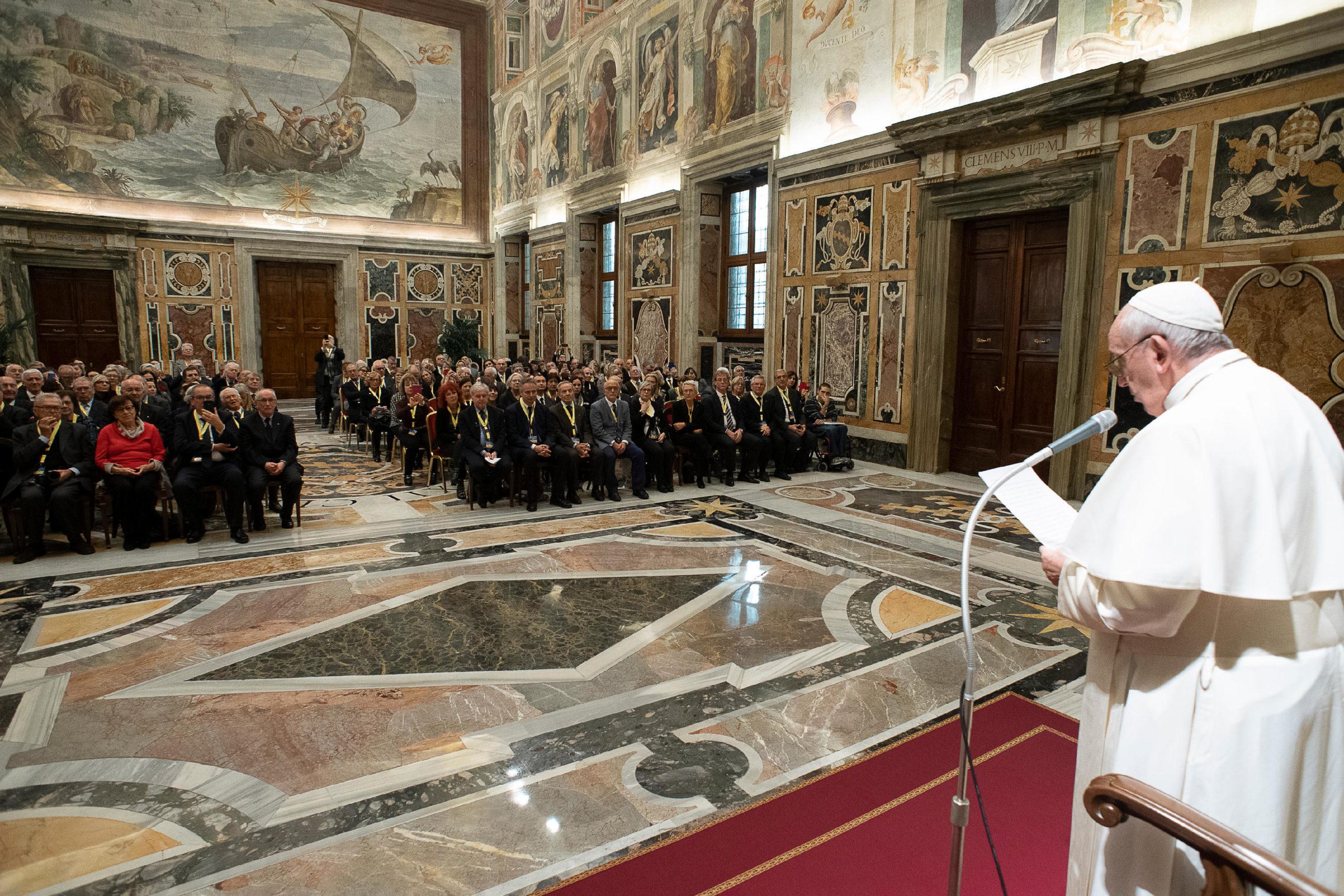 Association nationale des Travailleurs âgés © Vatican Media