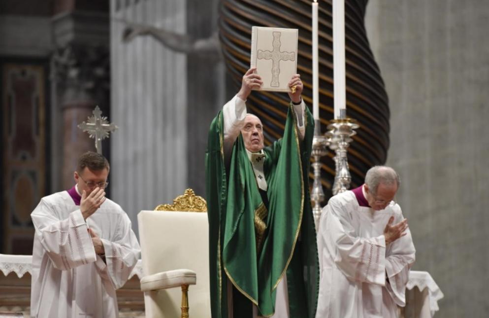 Premier Dimanche de la Parole, 26 janvier 2020 © Vatican Media