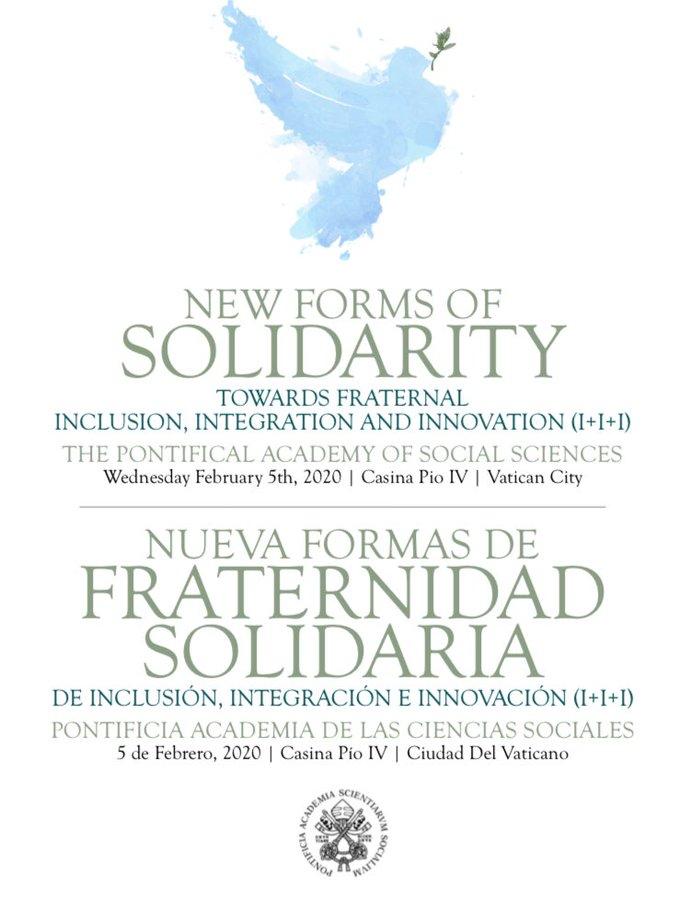 Affiche du congrès sur la solidarité, Académie des sciences sociales