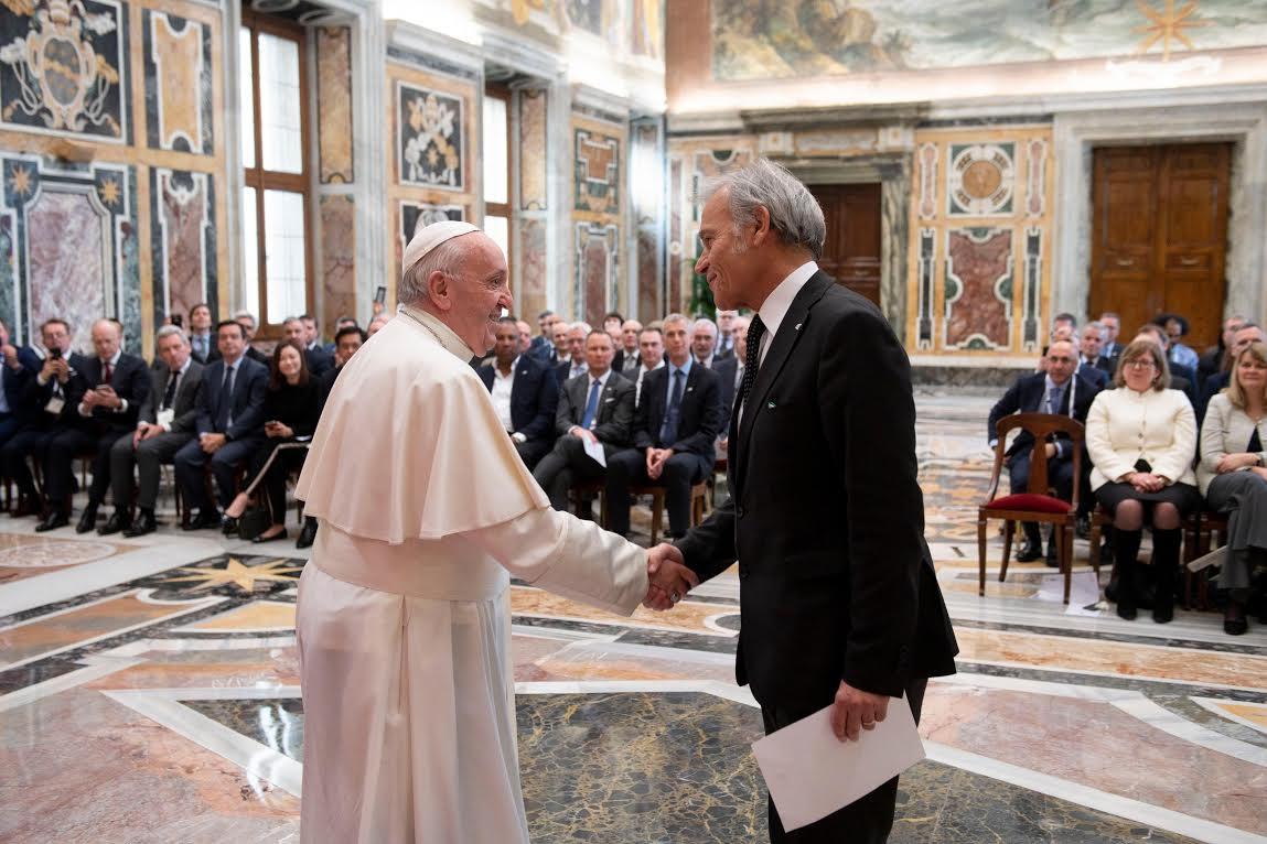 UFI - Global Ceo Summit © Vatican Media