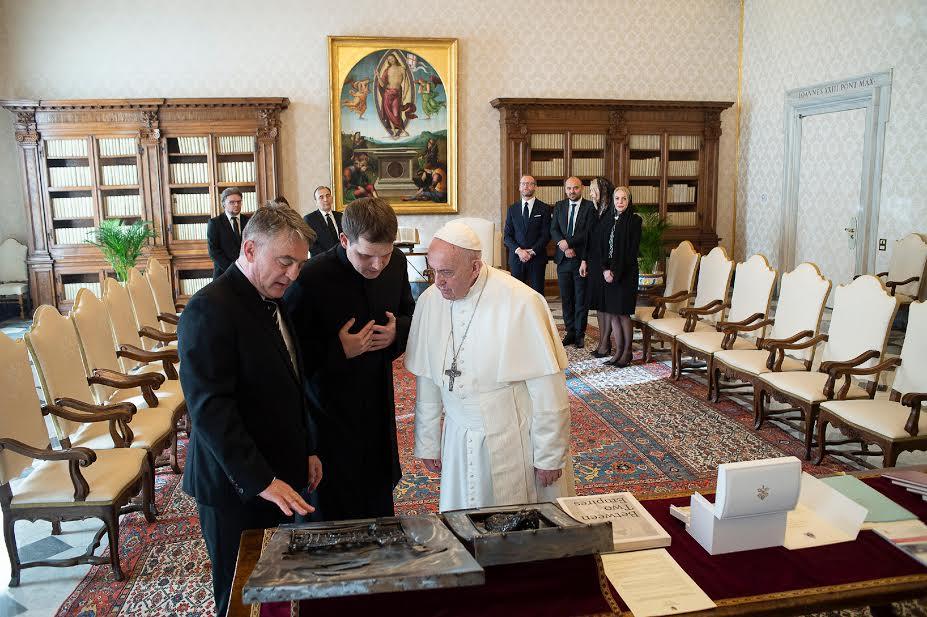 M. Zeljko Komsic (Bosnie-Herzégovine) © Vatican Media