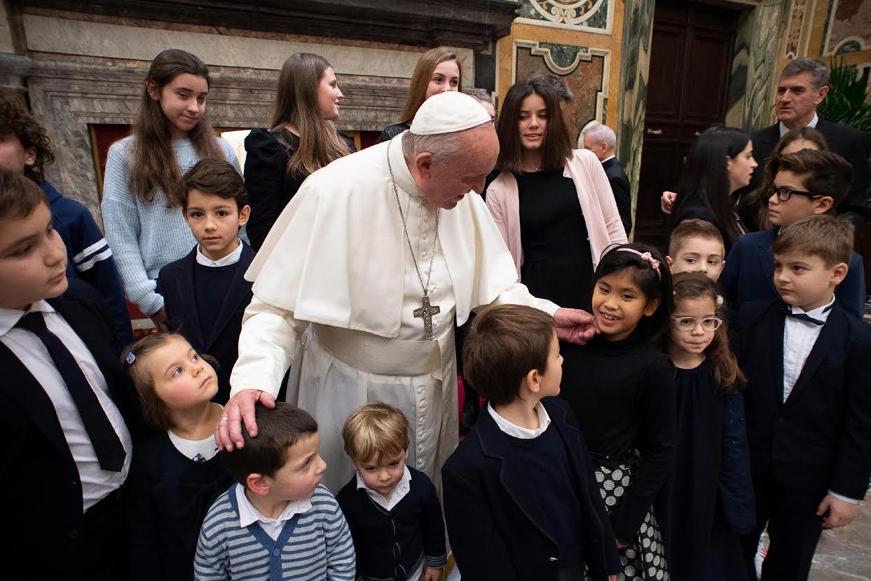 Gruppo Villa Maria care and research © Vatican Media