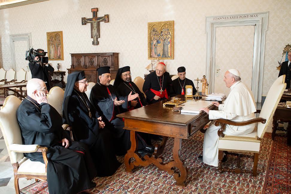 Audiences au patriarches © Vatican Media