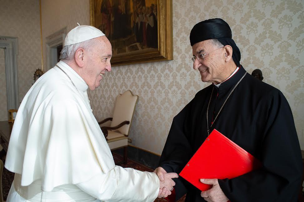 Card. Bechara Boutros Raï, patriarche maronite © Vatican Media