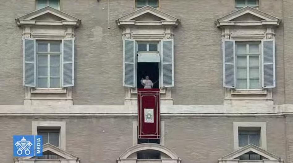Angélus du 9 février 2020, capture Vatican Media