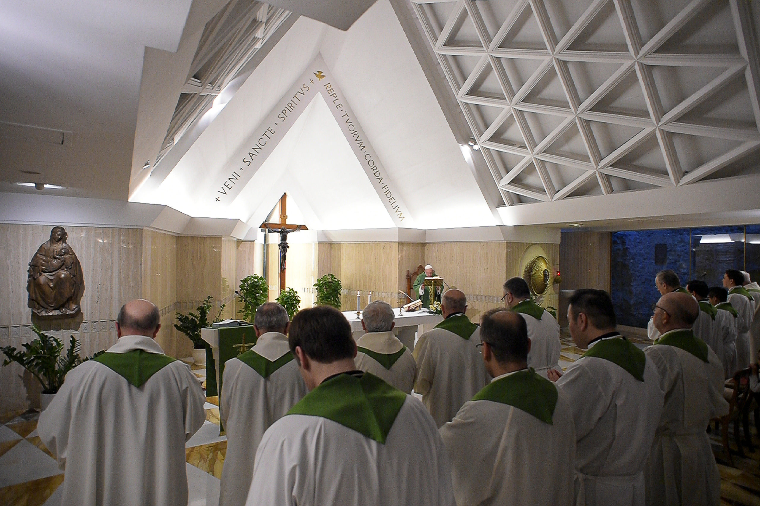 Sainte-Marthe, 20 février 2020 © Vatican Media