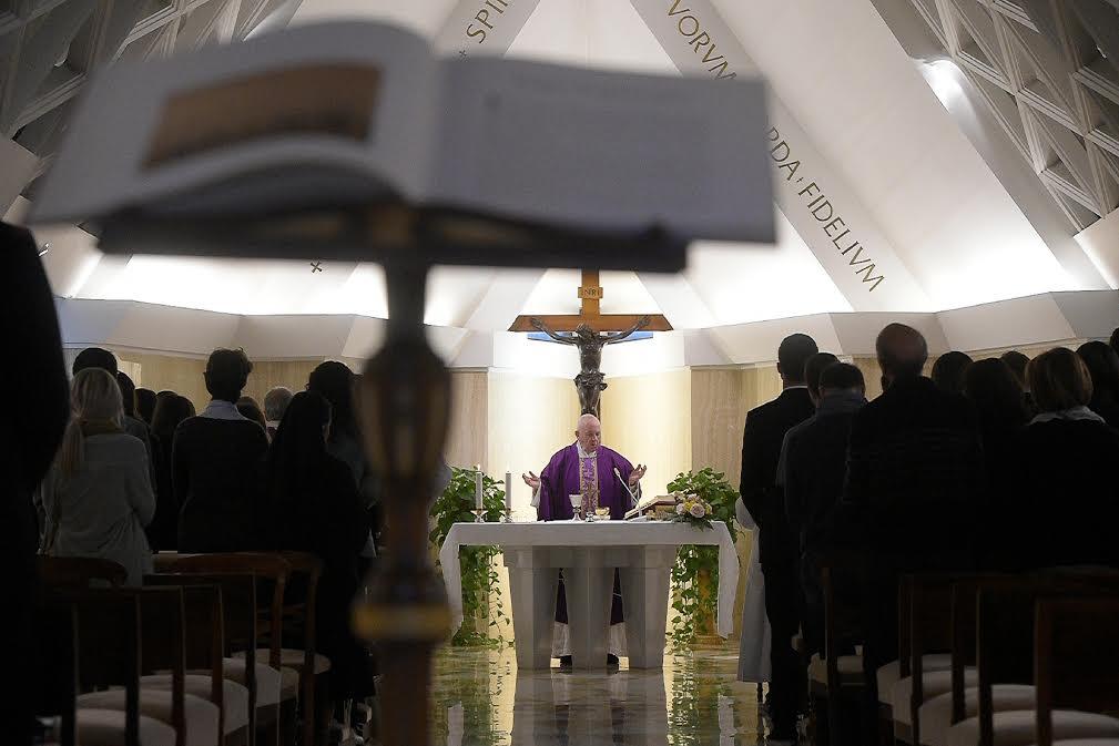 Sainte-Marthe, 27 fév. 2020 © Vatican Media