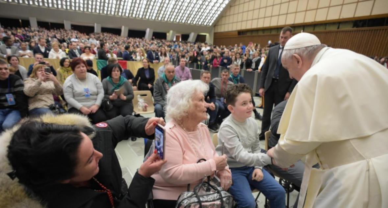 Jeunes et seniors, audience générale du 5 février 2020 © Vatican Media