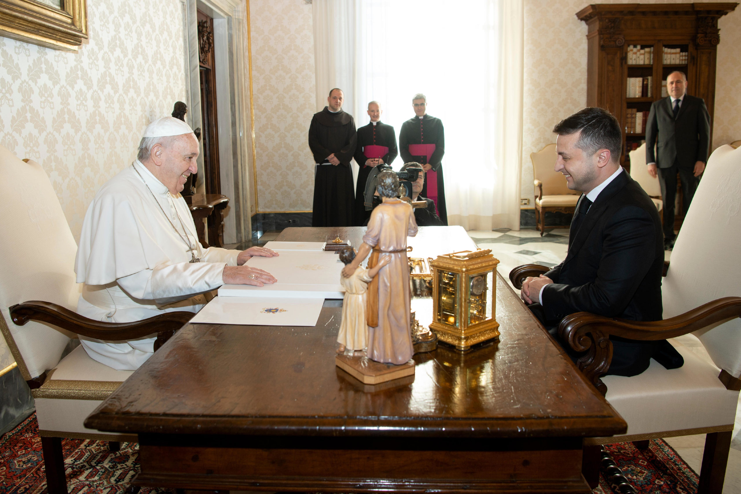 Volodymyr Zelensky, président de l'Ukraine © Vatican Media