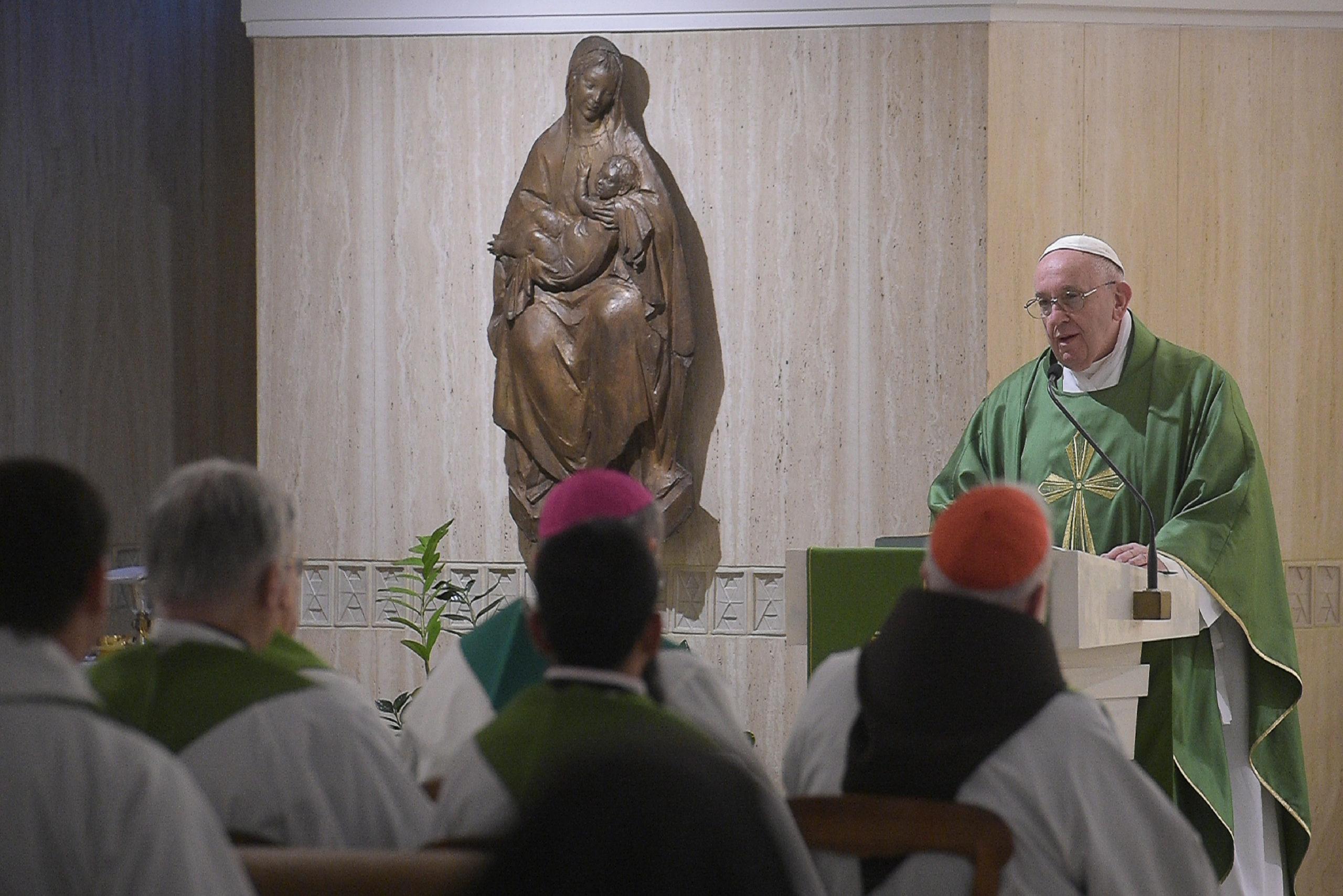 Sainte-Marthe, 18 février 2020 © Vatican Media