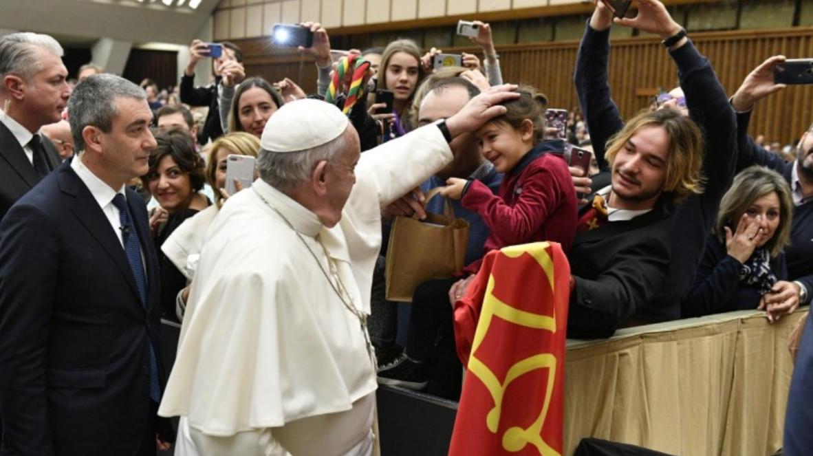 Audience générale du 12 février 2020 © Vatican Media