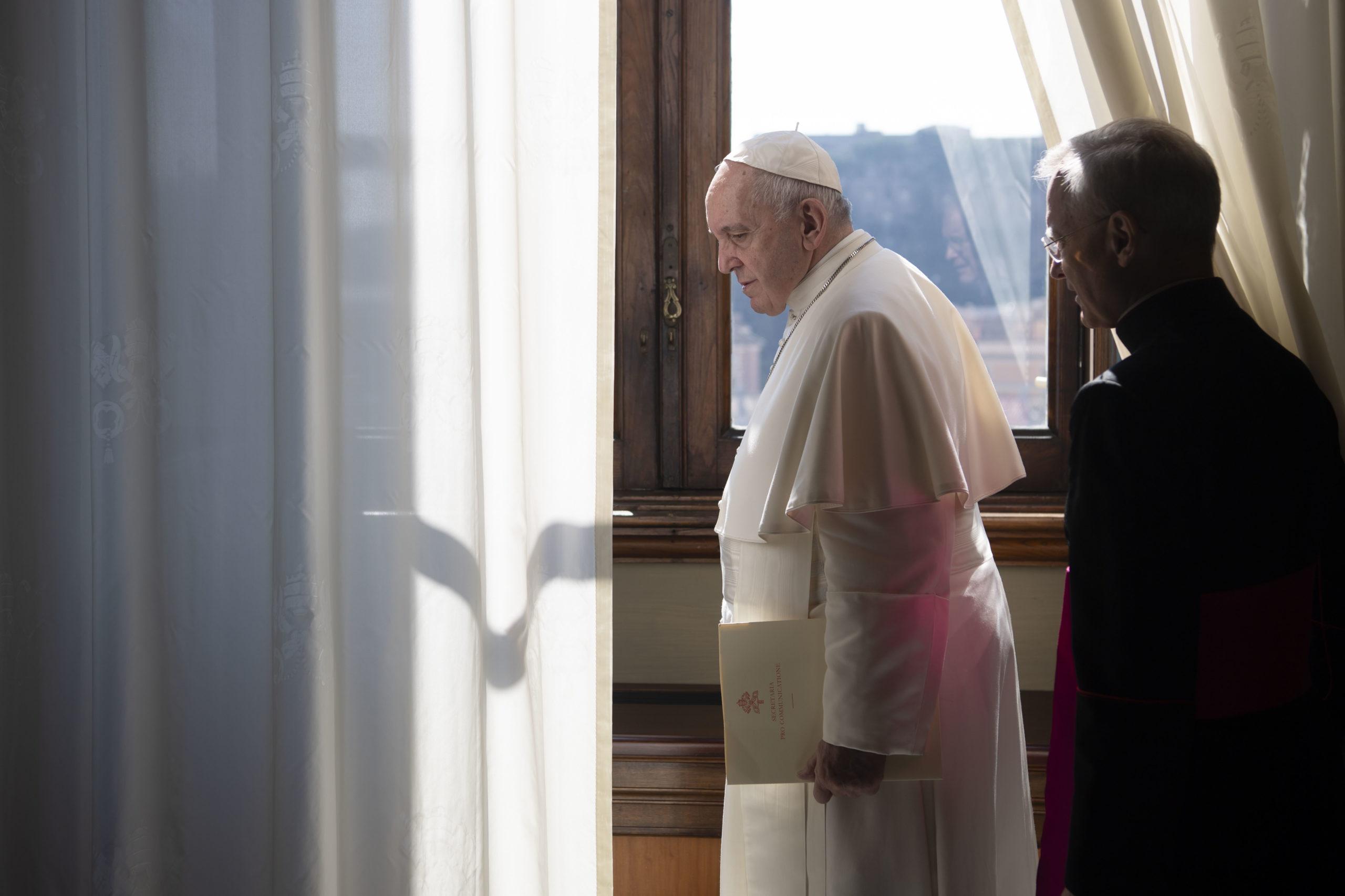 Audience générale du 18 mars 2020 © Vatican Media