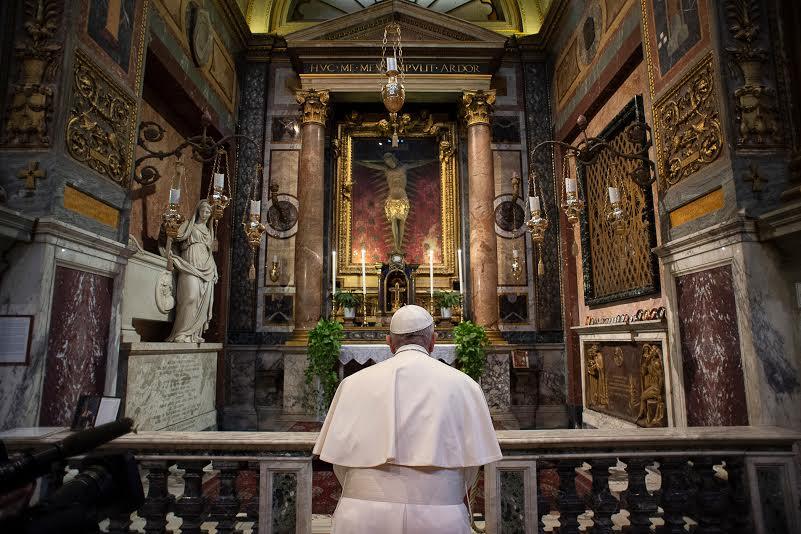 Crucifix de San Marcello al Corso (Rome) © Vatican Media