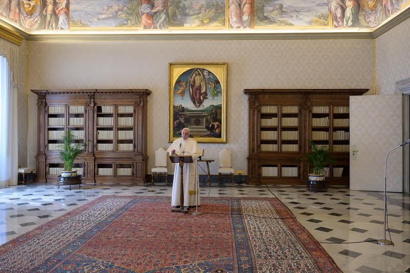 Angélus du 15 mars 2020 © Vatican Media