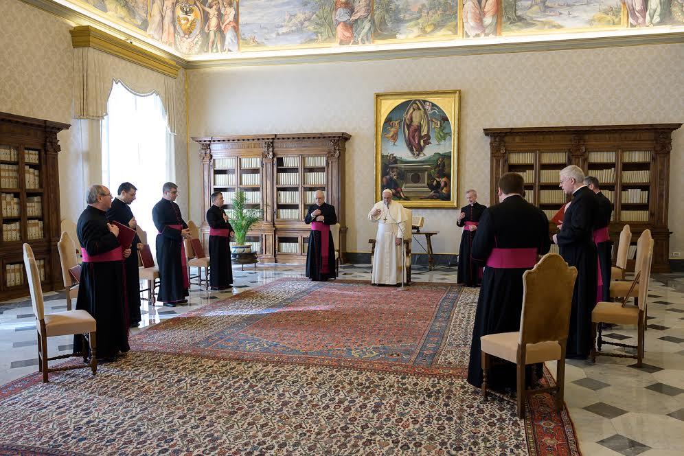 Audience du 11 mars 2020 © Vatican Media