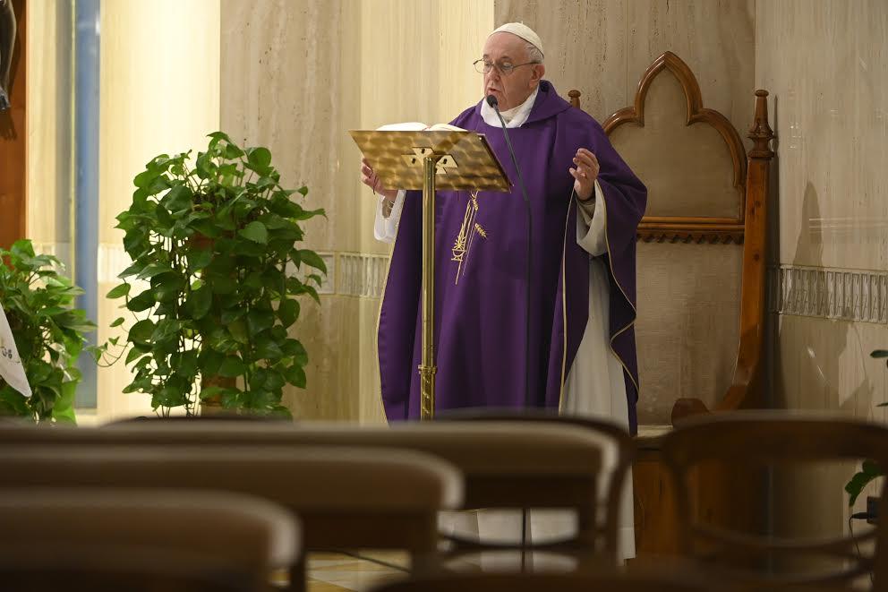Sainte-Marthe 30 mars 2020 © Vatican Media