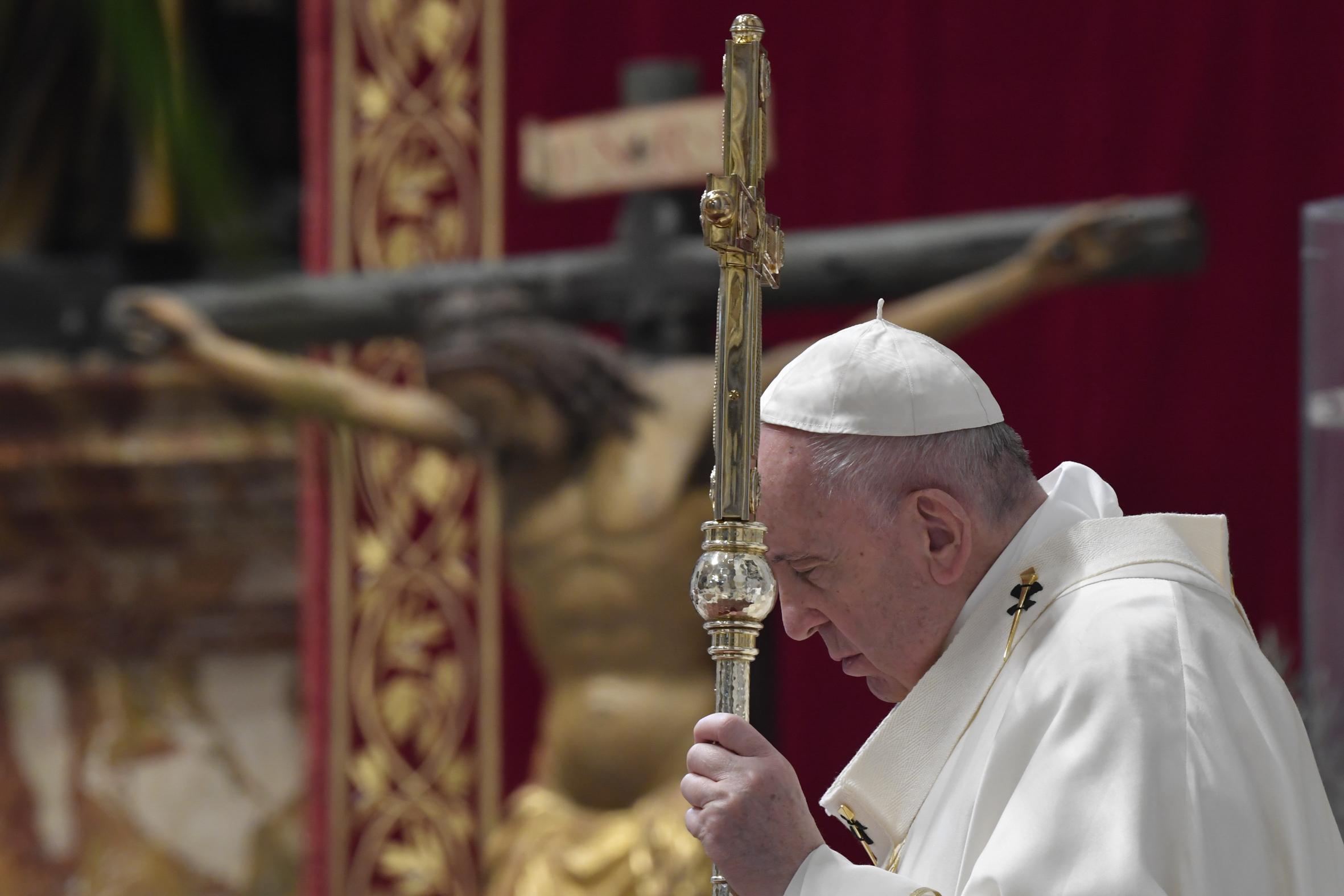 Jeudi Saint, Cène, 9 avril 2020 © Vatican Media