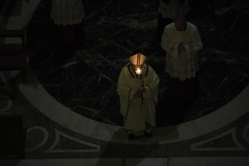Veillée pascale 11 avril 2020 © Vatican Media