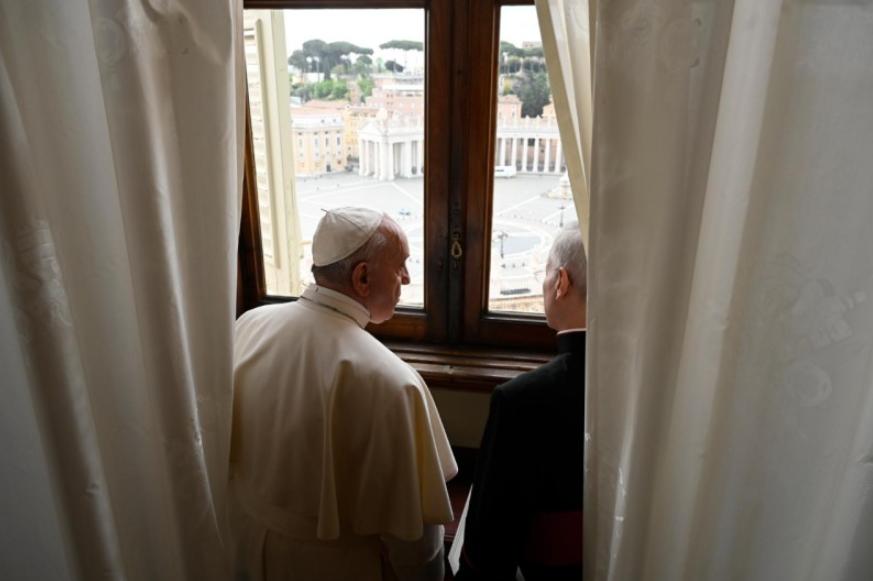 Audience générale du 29 avril 2020 © Vatican Media