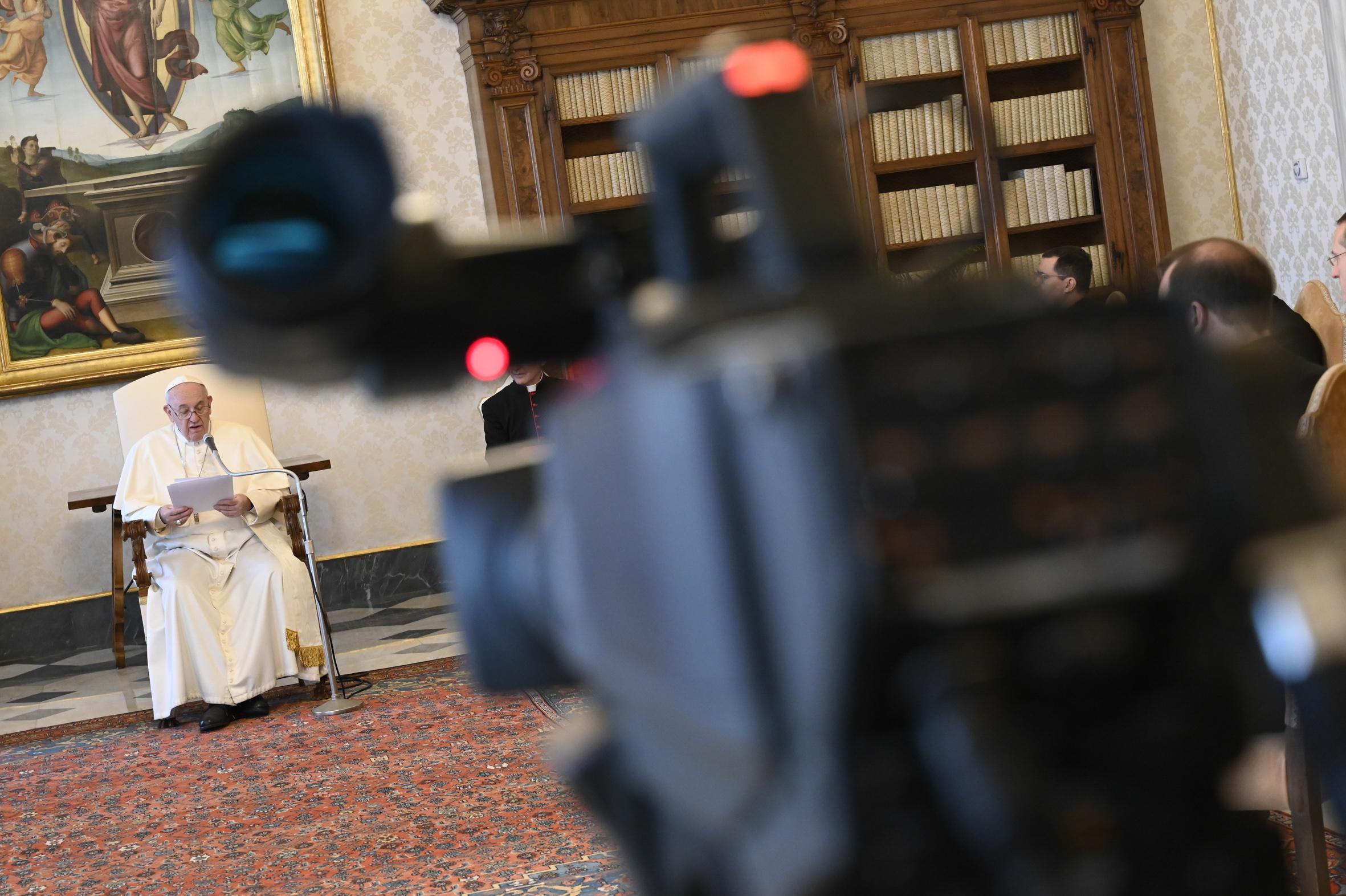 Audience générale du 15 avril 2020 © Vatican Media