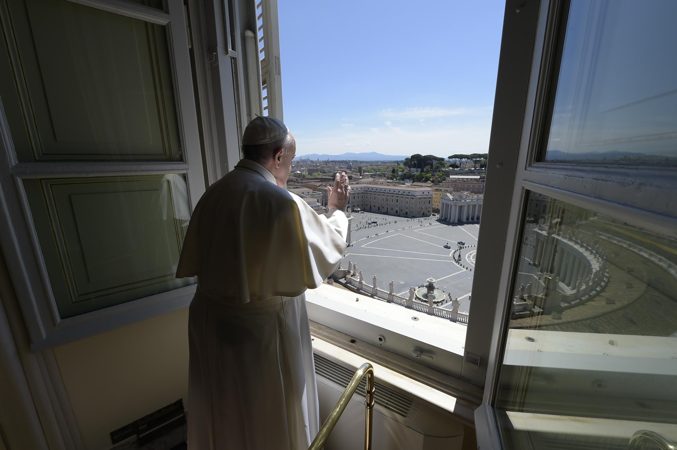 Regina Coeli du 26 avril 2020 © Vatican Media