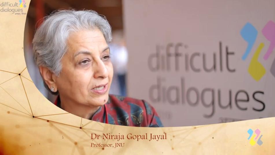 Niraja Gopal Jayal, capture TV