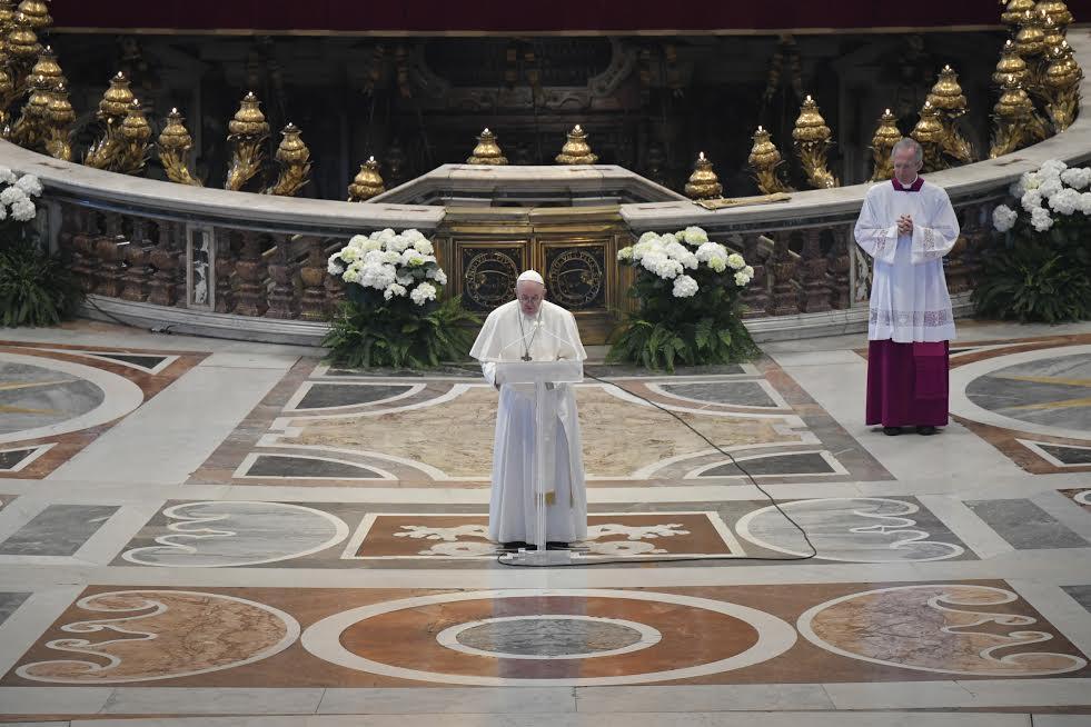 Urbi et Orbi 12 avril 2020 © Vatican Media