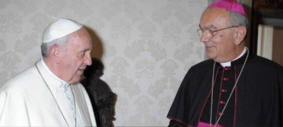 Décès du vicaire d'Arabie du Nord Mgr Camillo Ballin