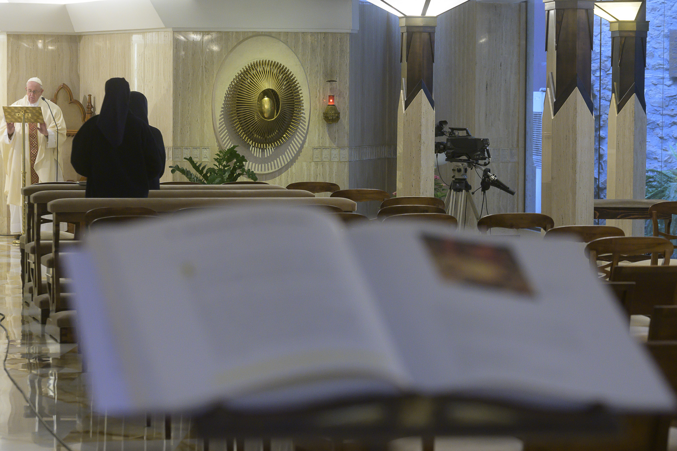 Sainte-Marthe, 10 mai 2020 © Vatican Media