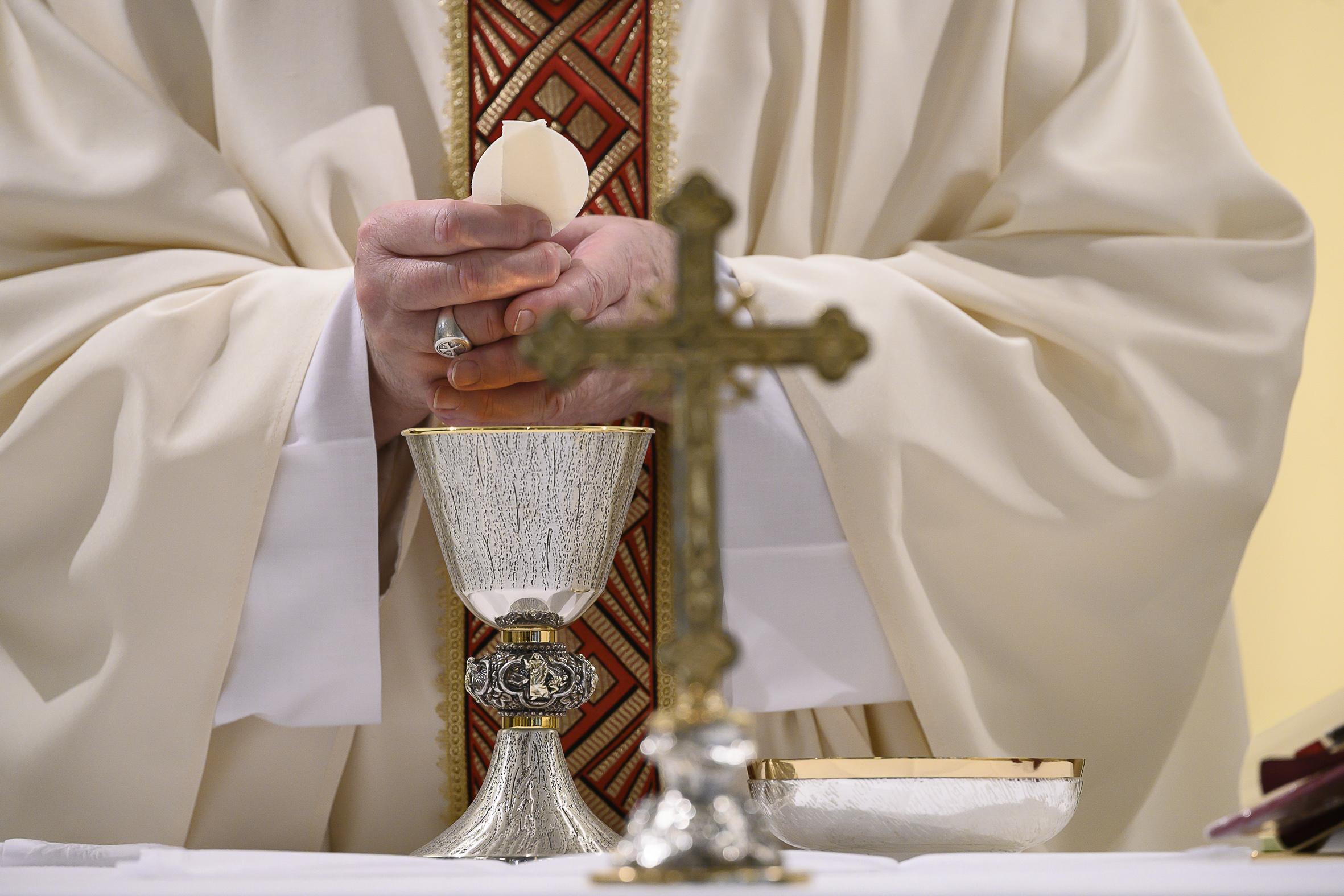 Messe à Sainte-Marthe, 2 mai 2020 © Vatican Media