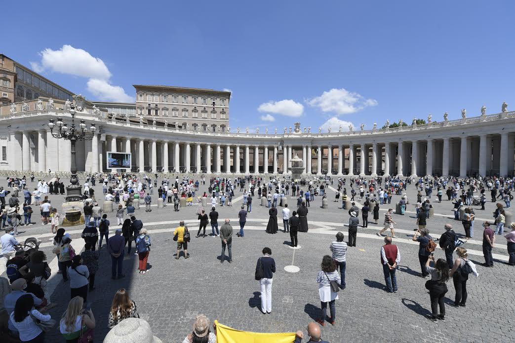 Regina Caeli 31 mai 2020 © Vatican Media