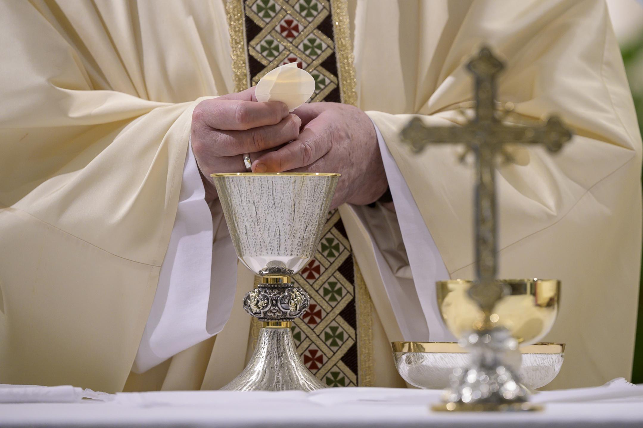 Sainte-Marthe, 8 mai 2020 © Vatican Media