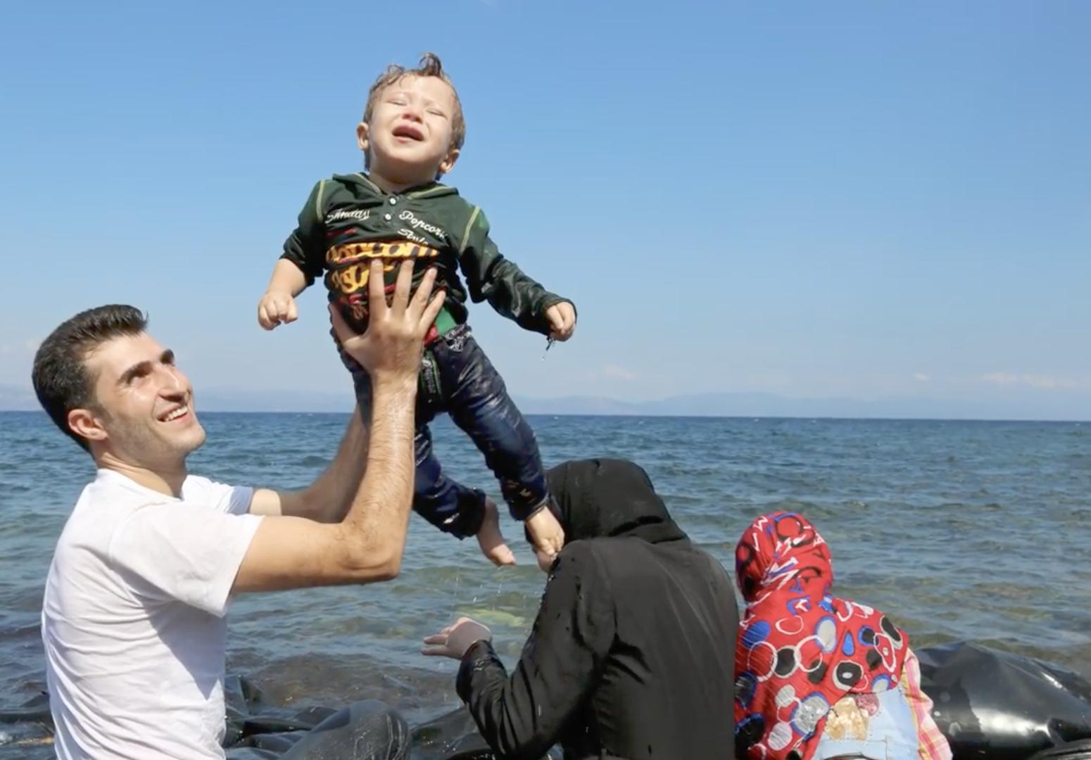 Réfugiés, capture @ Centre Astalli