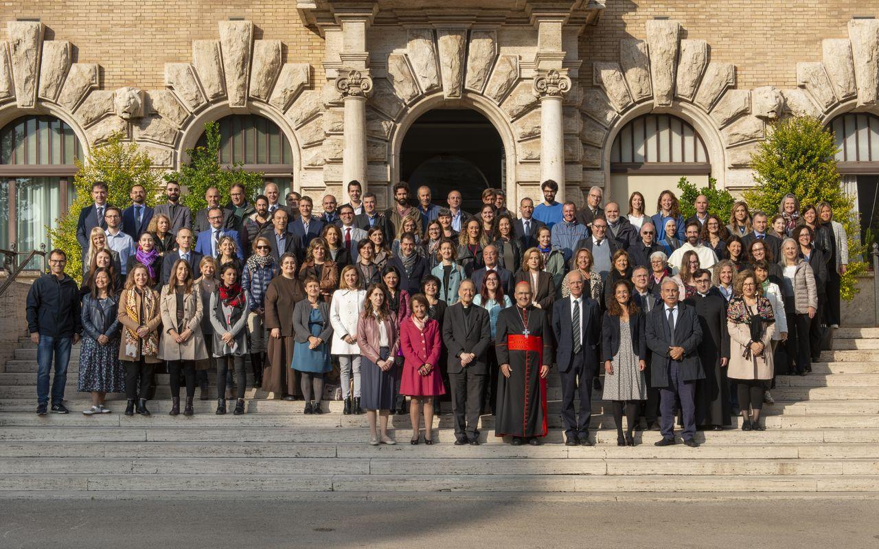 Le personnel, en octobre 2019 © Bibliothèque du Vatican