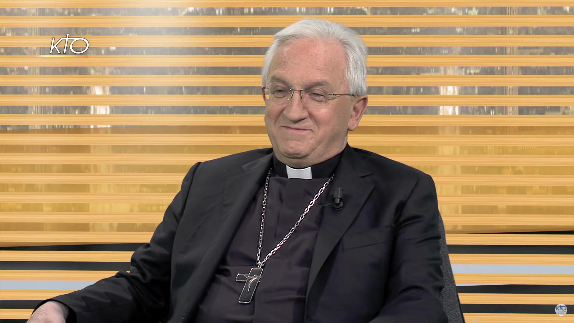 Mgr Celestino Migliore, capture @ Kto.Tv