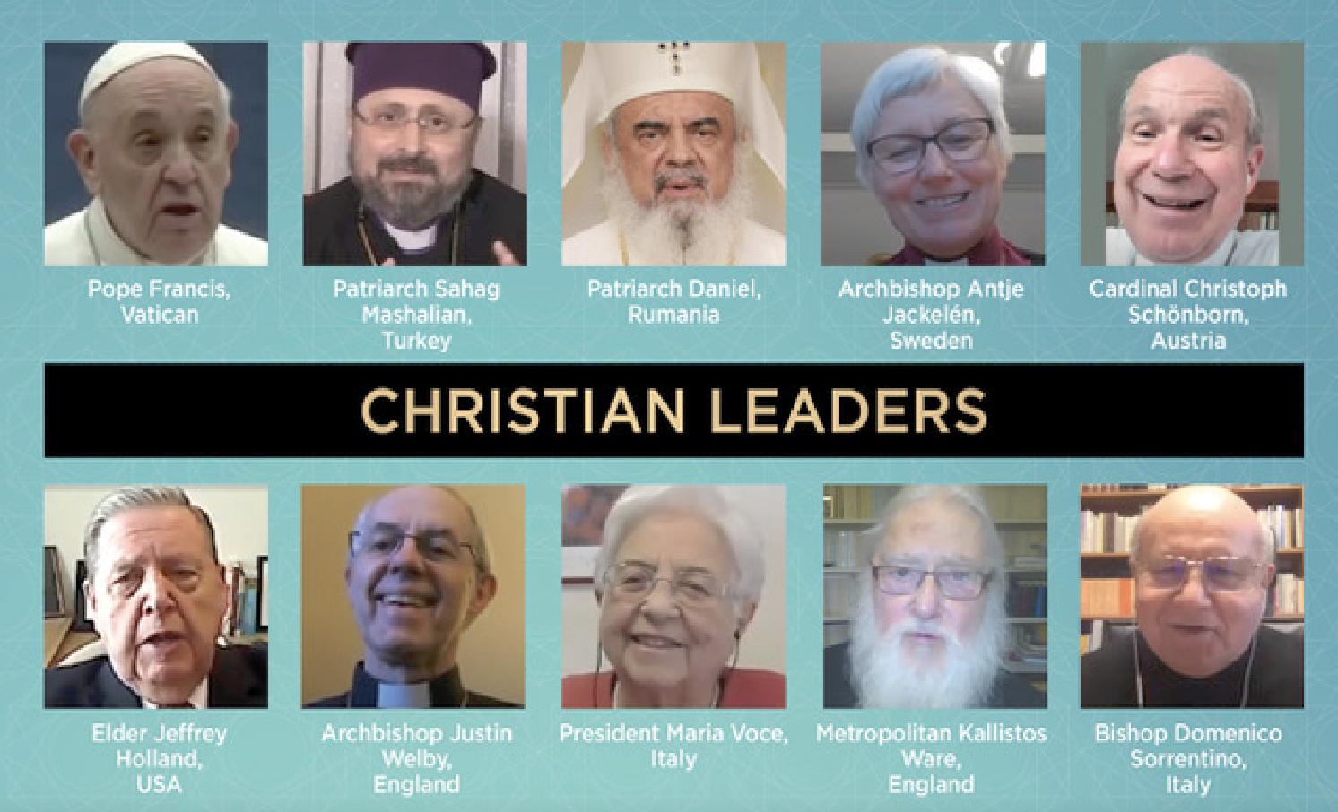 Leaders chrétiens © Coronaspection