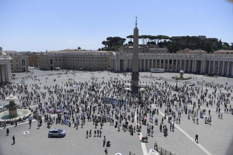 Angélus, 28 juin 2020 © Vatican Media