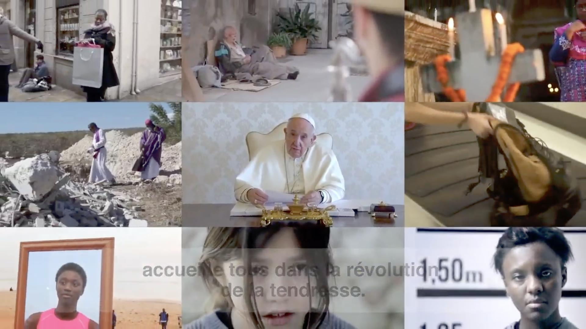 La Vidéo du Pape, juin 2020, capture