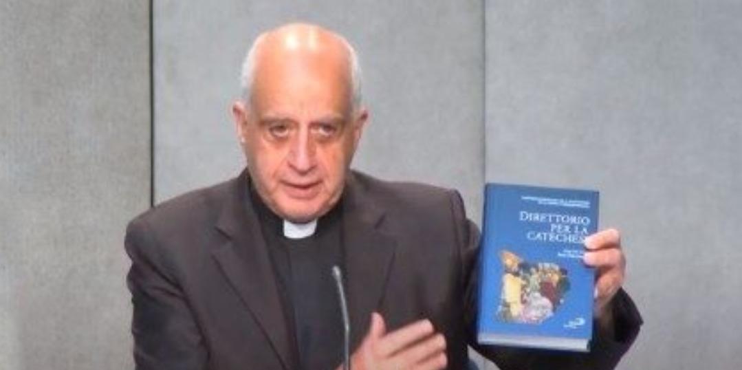 Mgr Rino Fisichella, 25 juin 2020, capture @ Vatican Media