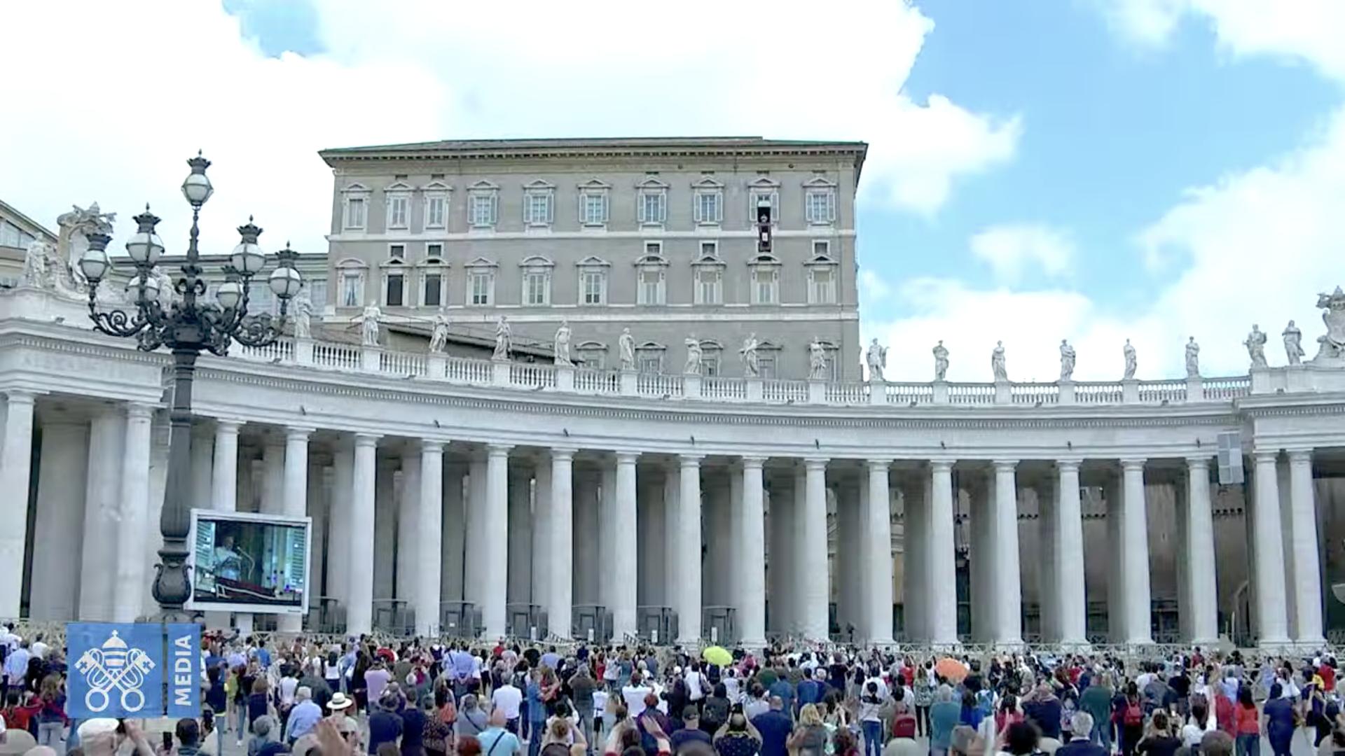 Angélus 14 juin 2020, capture @ Vatican Media